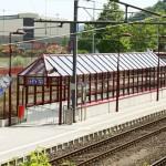 Abri train à Dudelang Usine