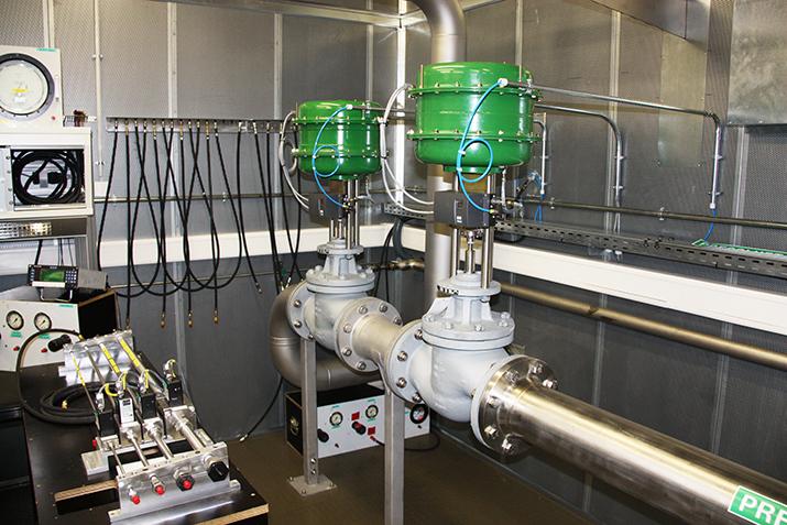 Banc d'essai pneumatique entièrement automatisé pour la maintenance et vérification des pièces d'avions