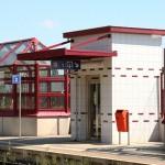 Marquise und Bahnsteigüberdachung