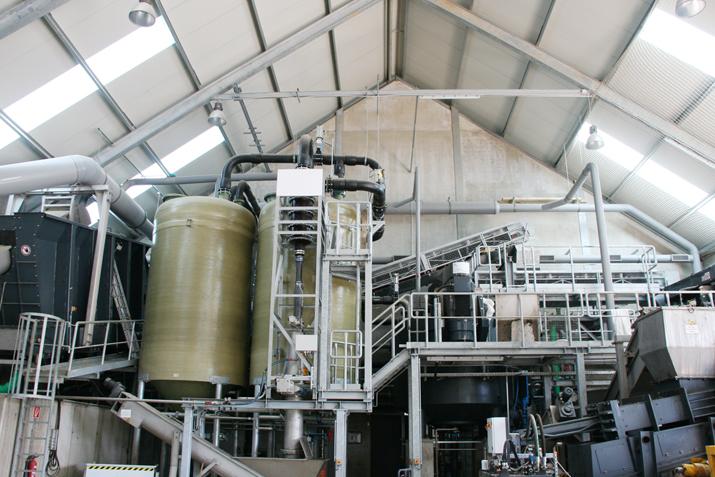 Biogasanlage Fa. Bakona in Itzig