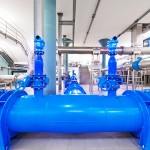 Industrial piping works for the new water tank «Rehbierg» near Hivange